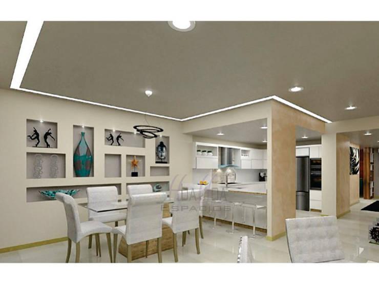 Diseño de Sala: Salas de estilo  por HoaHoa Espacios SAS