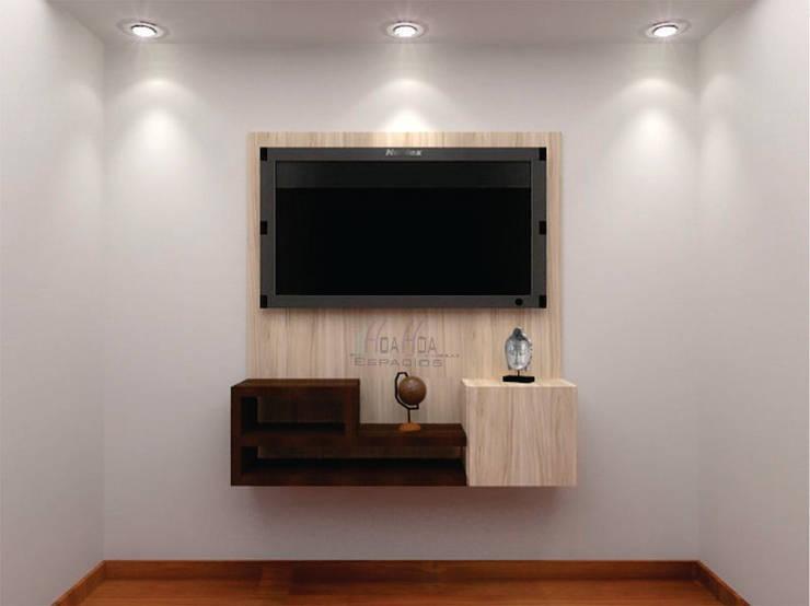 Mueble tV: Dormitorios de estilo  por HoaHoa Espacios SAS