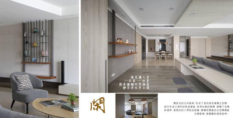 樂活幸福宅:  餐廳 by 夏川空間設計工作室