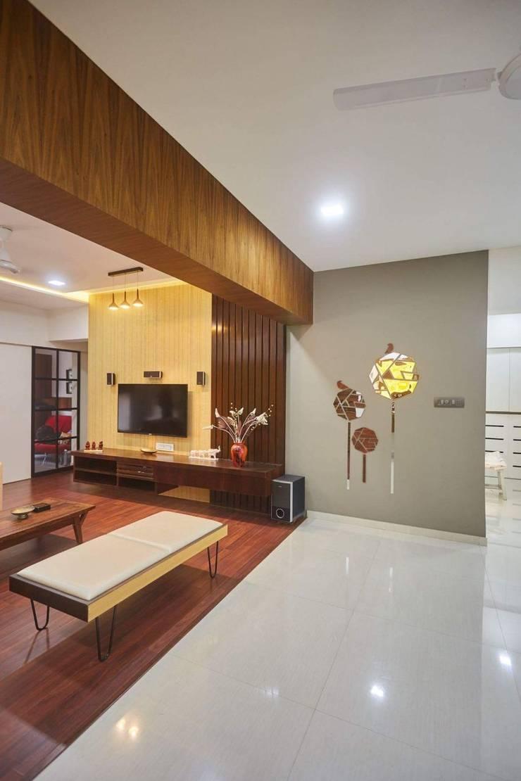 residential interior:  Living room by Nova Interiors,Modern