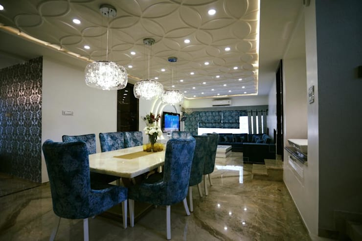 Projects 2:  Dining room by COLORDREAMS