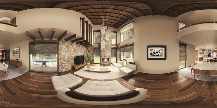 Salon moderne par BCA Arch and Interiors Moderne
