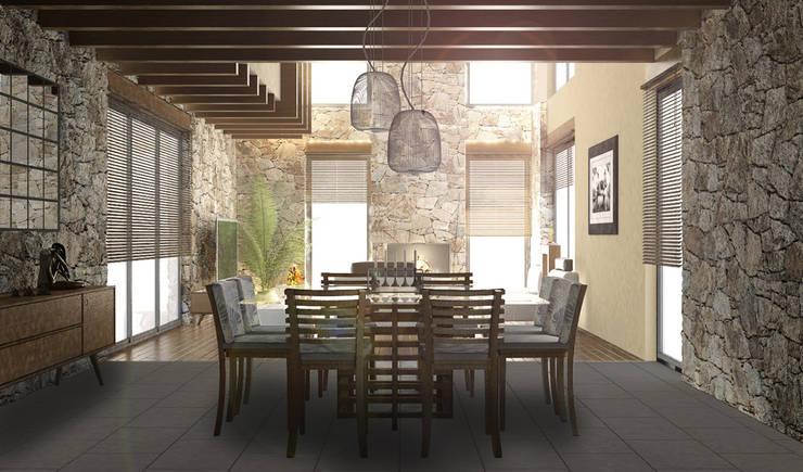 Salle à manger moderne par BCA Arch and Interiors Moderne
