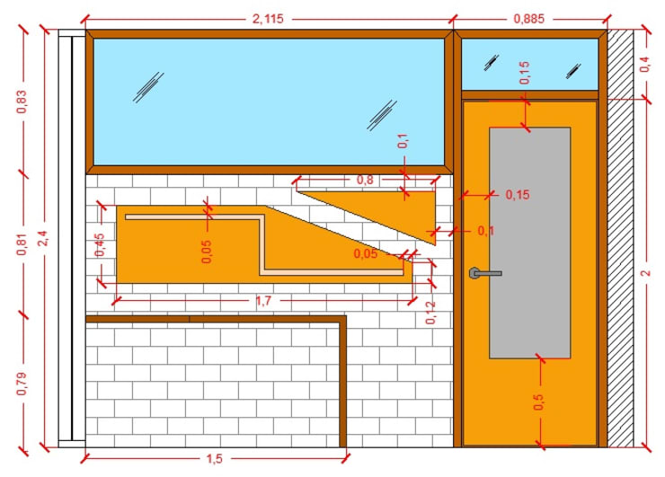 Diseño Mobiliario para oficina: Oficinas de estilo  por Arq. Barbara Bolivar