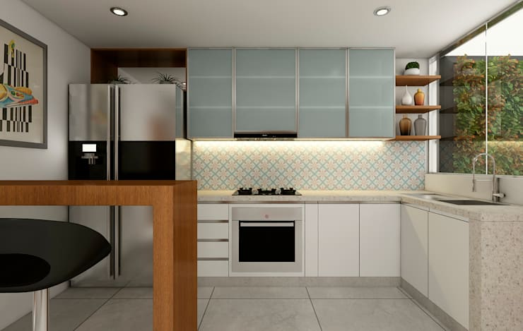 Kitchen by Luis Escobar Interiorismo