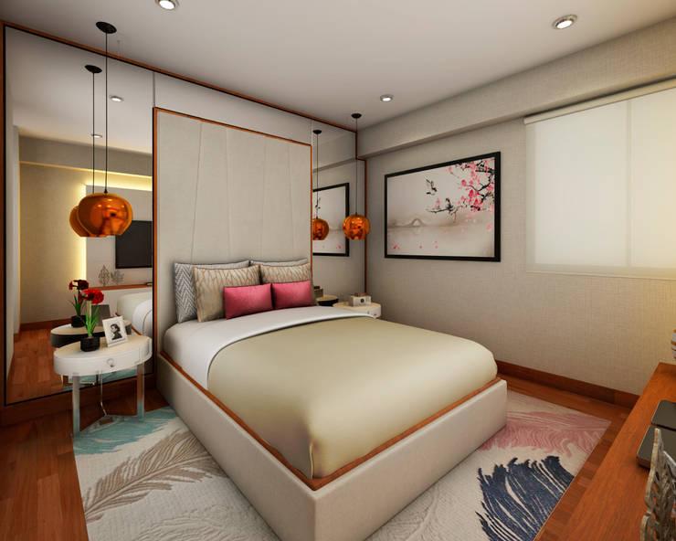 PROYECTO GA Dormitorios de estilo moderno de Luis Escobar Interiorismo Moderno