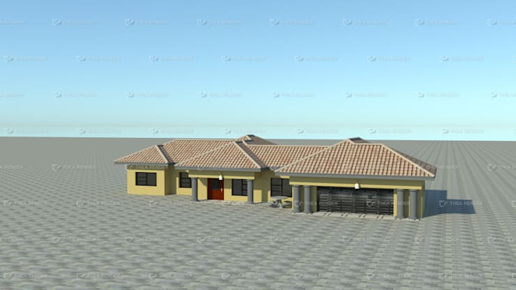 standard single storey:   by COMFORT MAYINGANI ARCHTECTZ