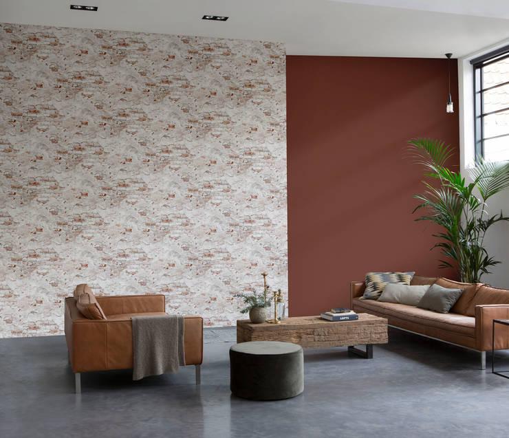 HannaHome Dekorasyon – Brütalizmin etkisini duvarlarınıza yansıtın!: tarz Duvar & Zemin