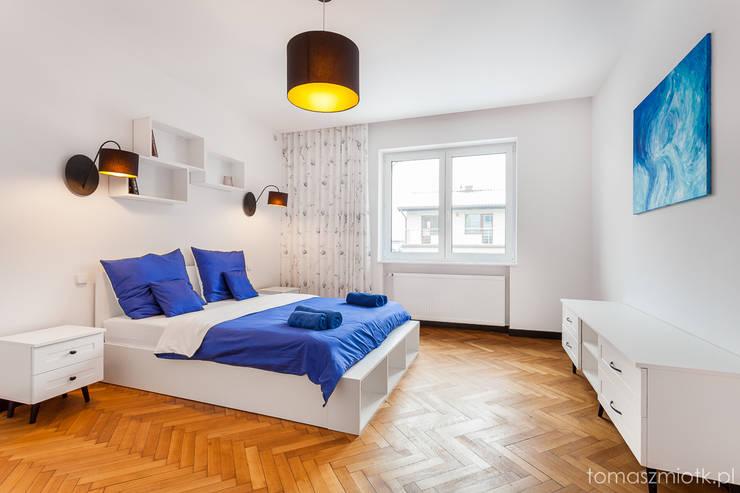 Zdjęcia nieruchomości: styl , w kategorii Sypialnia zaprojektowany przez Tomasz Miotk Fotografia