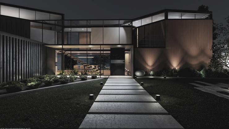 Casa C-J de Adrede Diseño Moderno Madera Acabado en madera