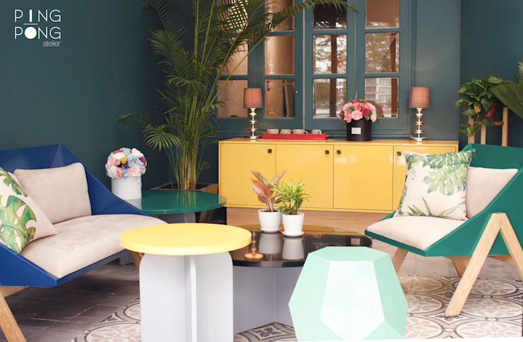 Showroom:  Spa by PingPong Atelier Furniture