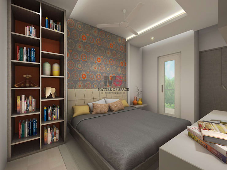 Bhiwadi:  Nursery/kid's room by Matter Of Space Pvt. Ltd.,Modern