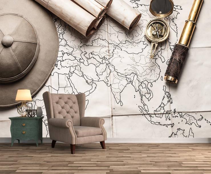 Dijivol Duvar Kağıtları – vol-HAR0411 / Keşif Haritası:  tarz Duvarlar