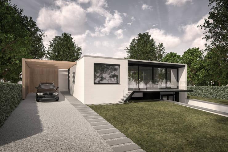 Ontwerp Aanbouw Moderne Carport By Bob Romijnders Architectuur
