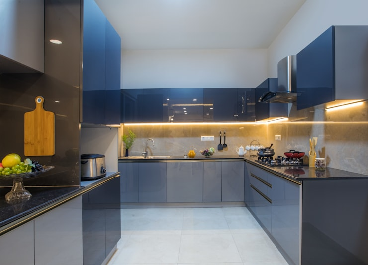 Project: modern Kitchen by Creative Geometry