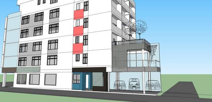 西門路  354 office  :  房子 by 劉勇信建築師事務所