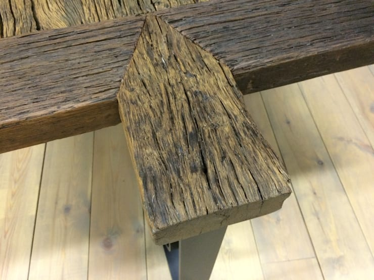 Tafel Oude Rijn:  Eetkamer door Meubelpassie