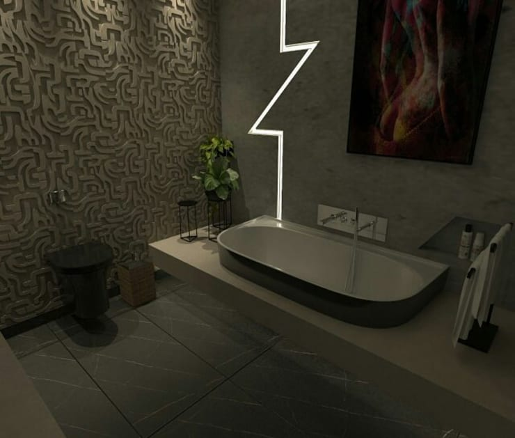 Bathroom by A7 Arquitetura | Design