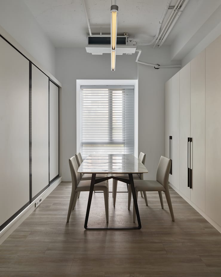辦公室:  書房/辦公室 by 澤序空間設計有限公司