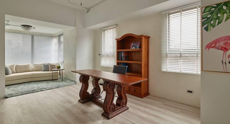 主管辦公室:  書房/辦公室 by 澤序空間設計有限公司