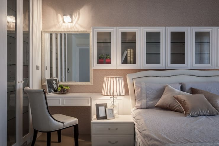 女孩房:  臥室 by 澤序空間設計有限公司