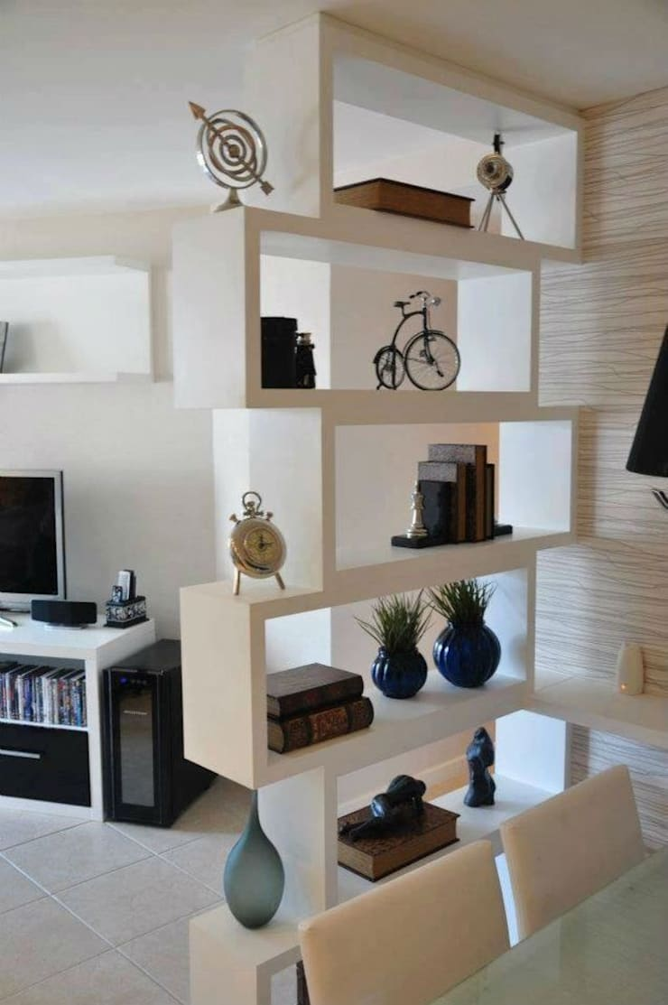 Projects: modern Living room by Modern Interiors