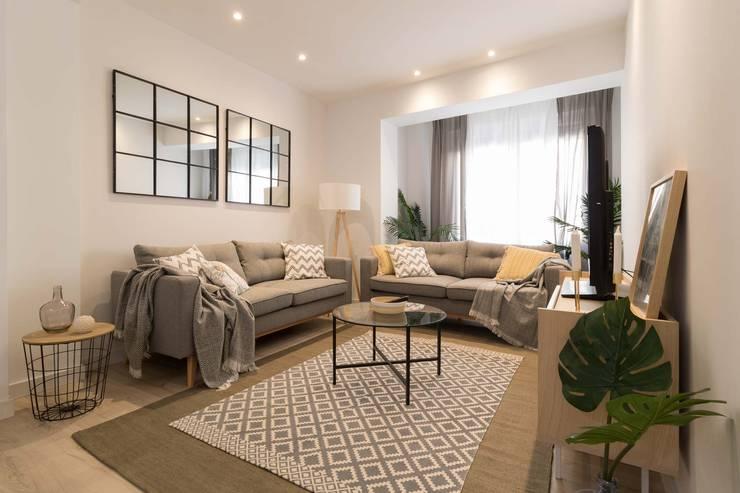 Ruang Keluarga oleh Become a Home, Skandinavia