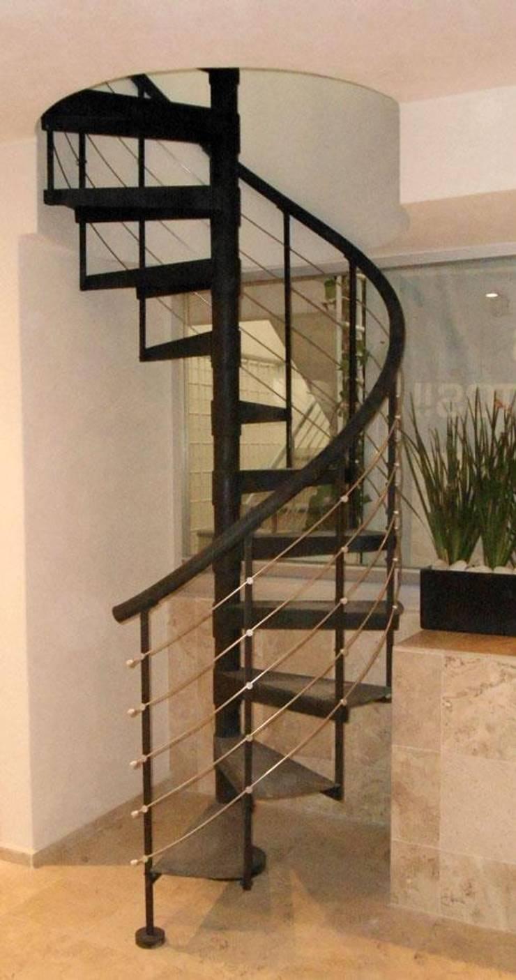 Escalera Caracol Chichen Itza De Suvire Escaleras Homify - Escaleras-de-caracol