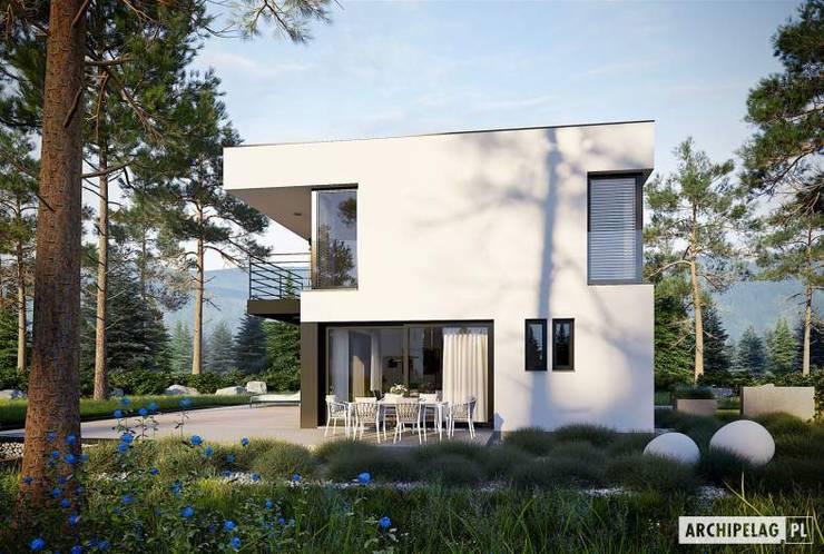 บ้านเดี่ยว โดย Pracownia Projektowa ARCHIPELAG, มินิมัล