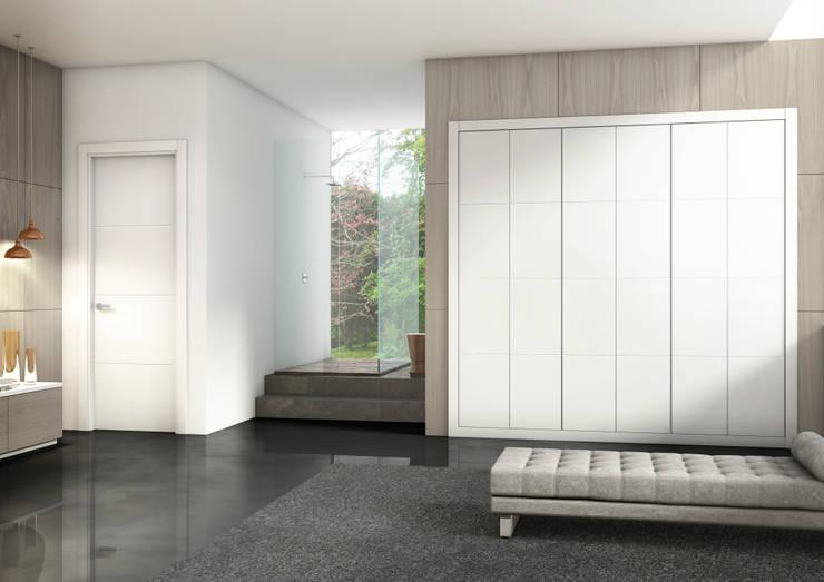 oleh Puertas Castalla, Minimalis Kayu Wood effect