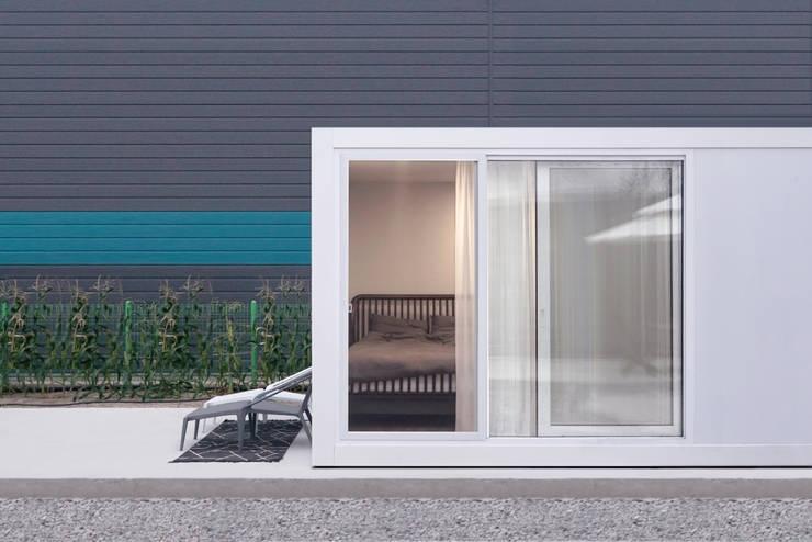 마룸 6평 (micro compact house): 마룸의  주택,