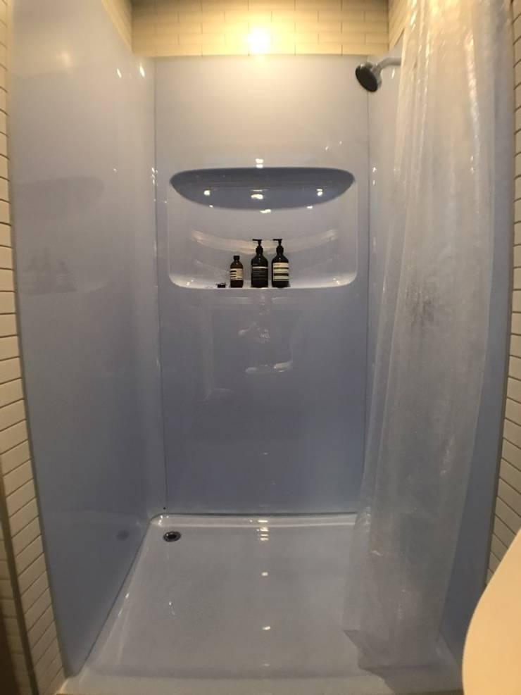 마룸 6평 (micro compact house): 마룸의  욕실,