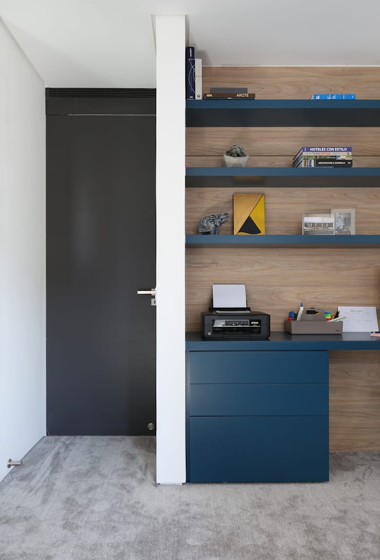 Modern Study Room and Home Office by Start Arquitetura Modern