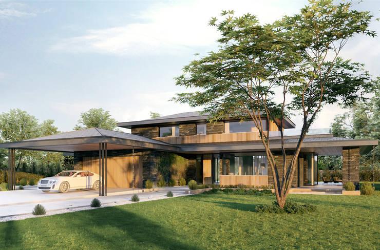 منازل تنفيذ TISSU Architecture
