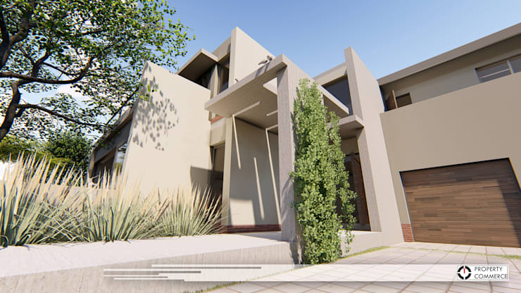 House Moeletsi:  Houses by Property Commerce Architects