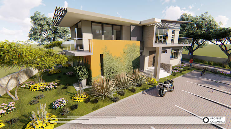 Houses by Property Commerce Architects, Modern
