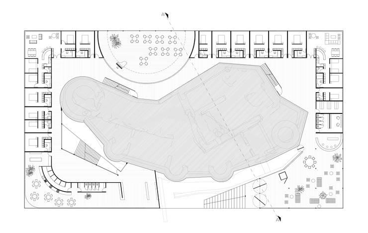 CASTLE RESORT/ young architects competitions:   door IRIX, Minimalistisch