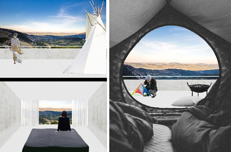 CASTLE RESORT/ young architects competitions:   door IRIX