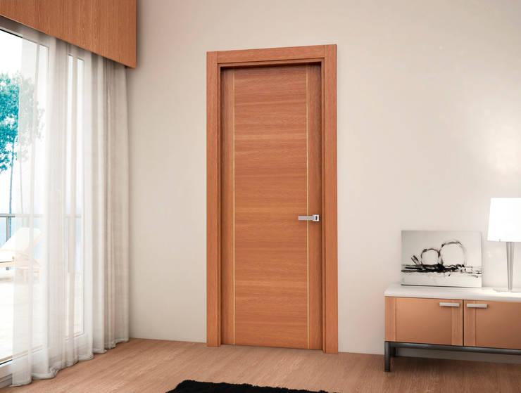 modern  oleh Puertas Castalla, Modern Kayu Wood effect