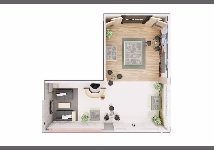 Kantor Marketing Galery Kawasan Industri Kendal:   by Q Interior & Arch