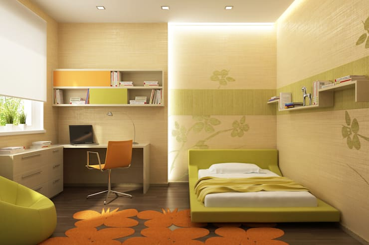 غرفة نوم تنفيذ Interior Five