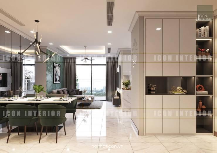 Thiết kế nội thất cao cấp dành cho căn hộ Vinhomes Central Park:  Cửa ra vào by ICON INTERIOR