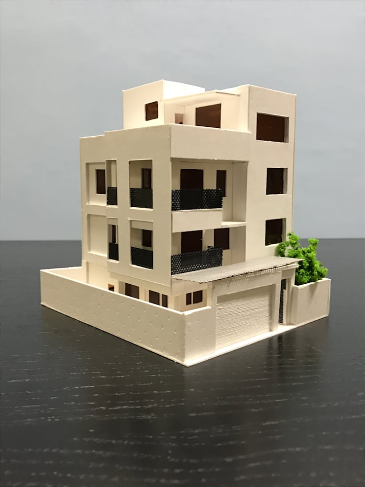 Villa in stile  di 劉勇信建築師事務所