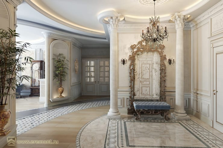 Salones de estilo  de Вира-АртСтрой, Moderno