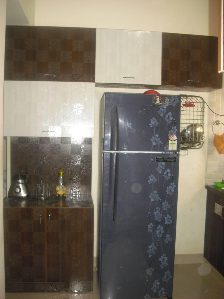2BHK @Ananth nagar : modern Kitchen by FOGLINE INTERIORS