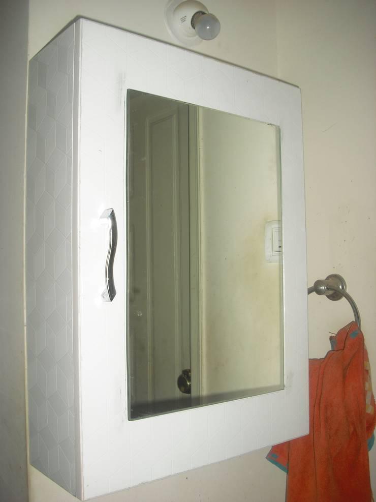 2BHK @Ananth nagar : modern Bathroom by FOGLINE INTERIORS