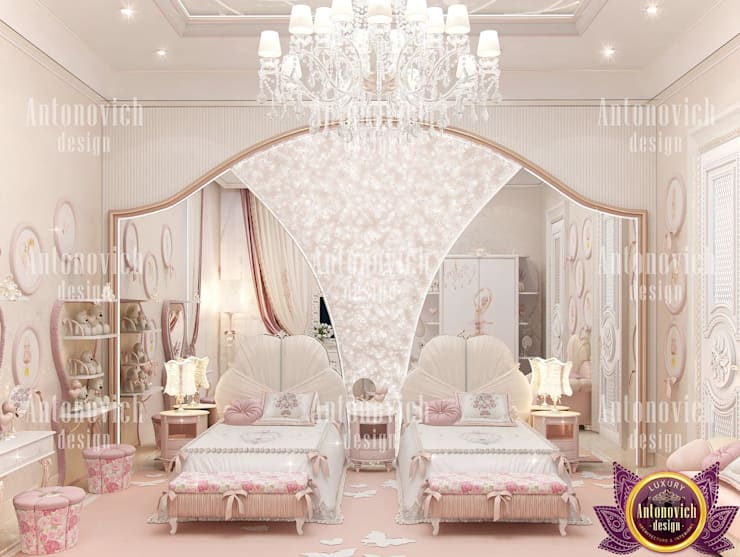 ​The attractive power of beautiful interiors from Katrina Antonovich:  Bedroom by Luxury Antonovich Design