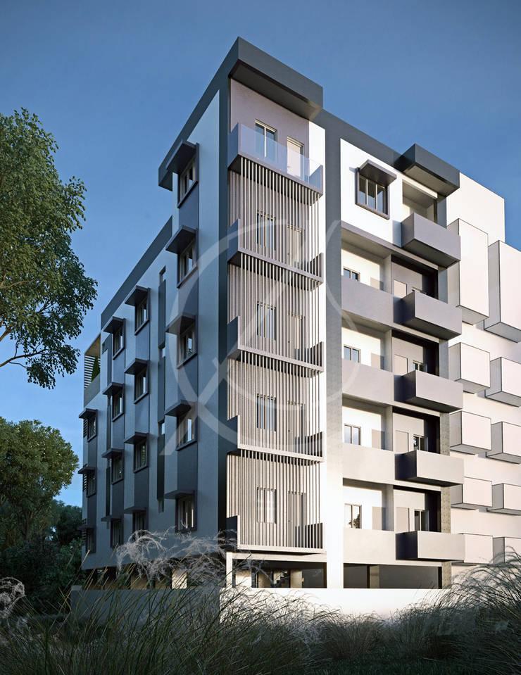 Casas multifamiliares de estilo  de Comelite Architecture, Structure and Interior Design ,