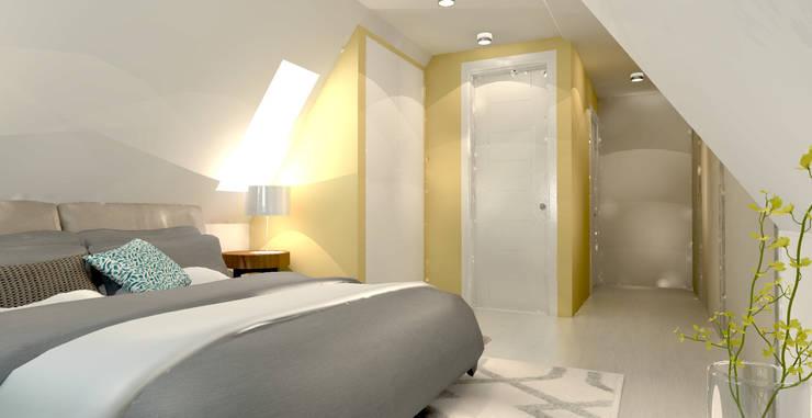 Herinrichting zolder met badkamer door stefania rastellino interior