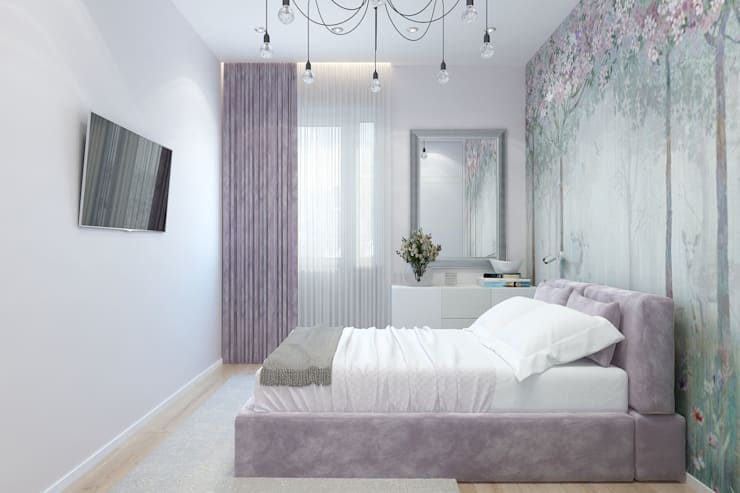 Bedroom by Гузалия Шамсутдинова | KUB STUDIO